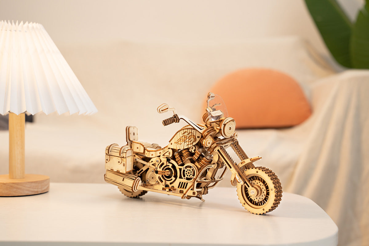 ROKR Cruiser motorcycle LK504 3D Wooden Puzzle