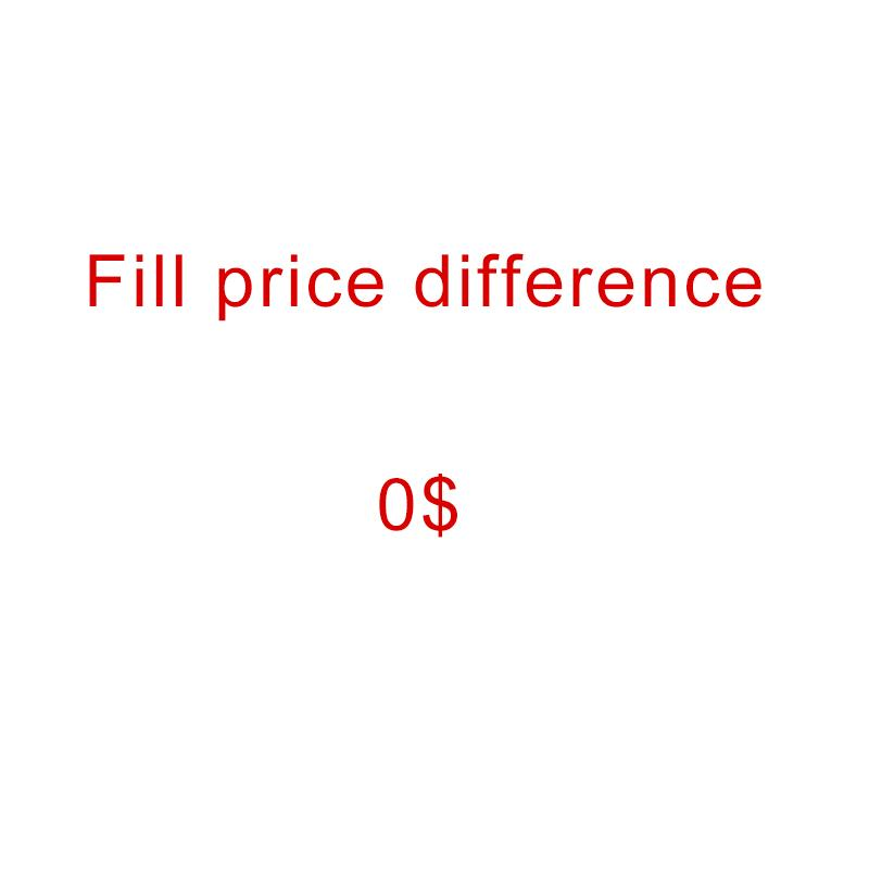 Fill price difference - Special purpose - For payment only - 0$