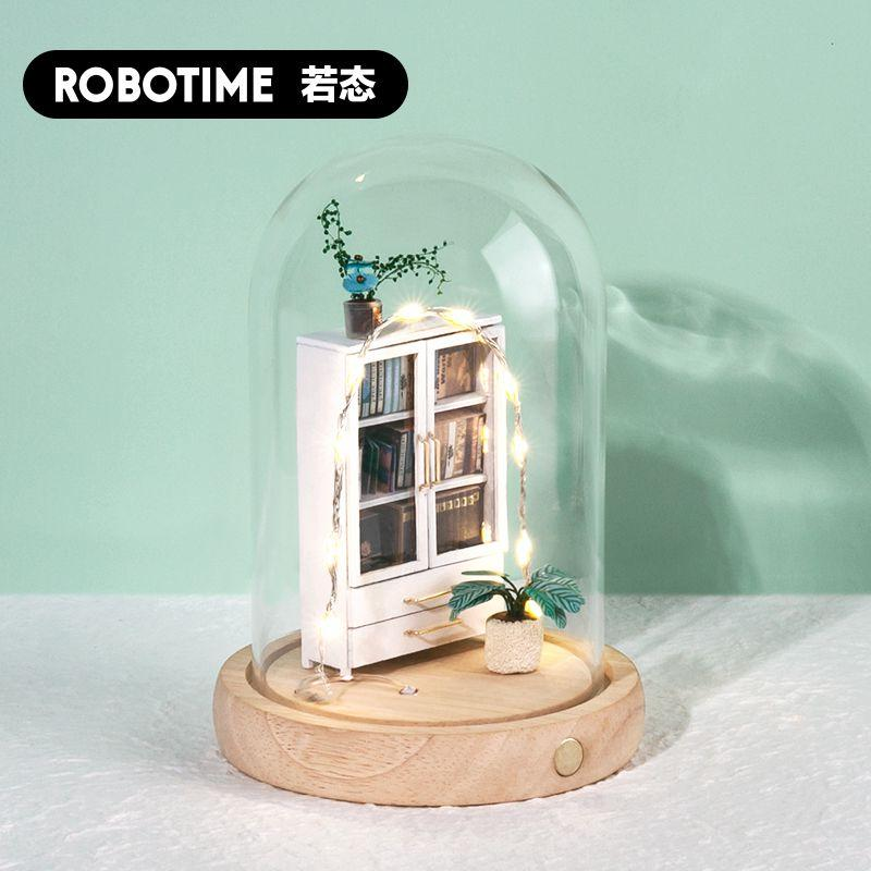 Robotime-ROKR Nanci Creative Glass Cover Nightlight