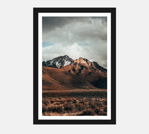 Nevada Winter Poster