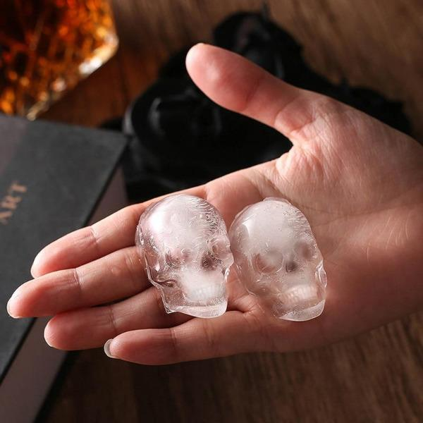 3d-skull-ice-cube-maker-silicone-mold