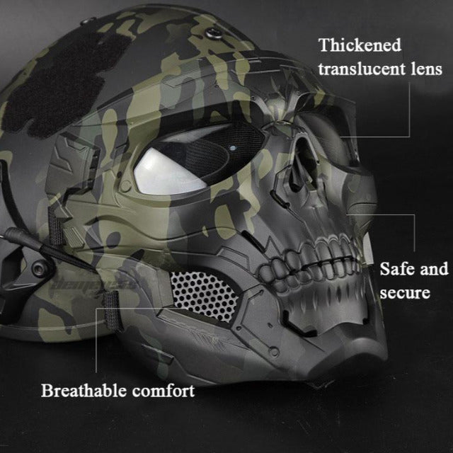 Skull Tactical Airsoft Paintball Mask