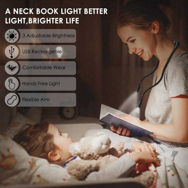 Flexible-Neck-Book-Light-For-Reading-In-Bed