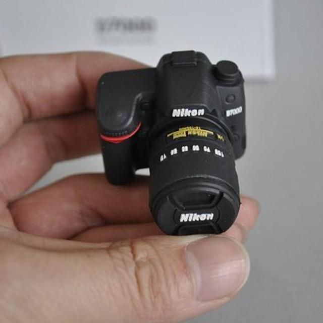 Small Replica Photography Camera USB Flash Drive