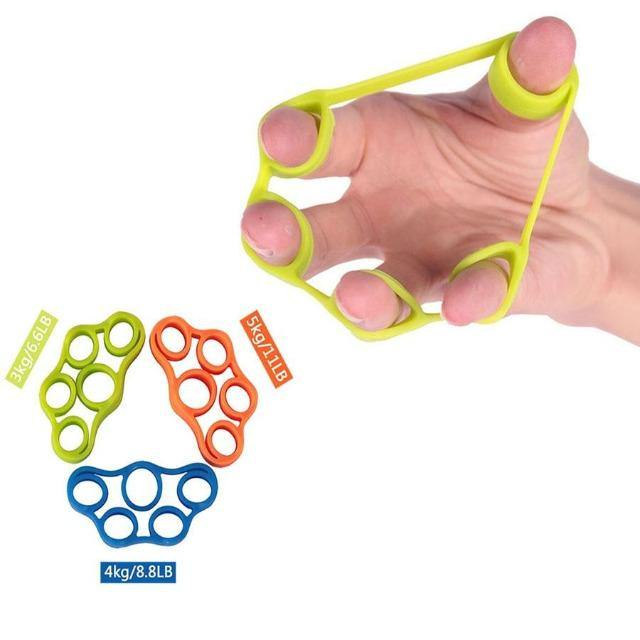 Silicone-Hand-Grip-Therapy-Strength-Trainer