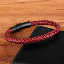 Load image into Gallery viewer, Classic Style Leather Braided Bracelet For Men - giftfeedstore