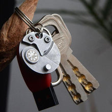 Load image into Gallery viewer, Coin Knife Folding Keychain Multitool - giftfeedstore