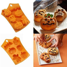 Load image into Gallery viewer, Diamond Heart Shape Silicone Cake Molds for Baking - giftfeedstore