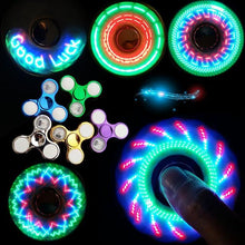 Load image into Gallery viewer, LED Glow in the Dark Fidget Spinners - giftfeedstore