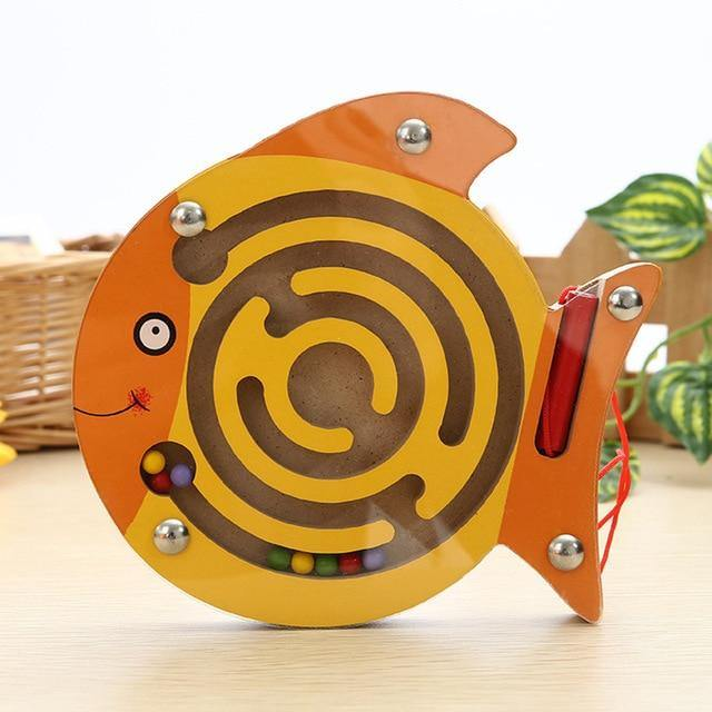Magnetic Maze Educational Montessori Toys For Kids - giftfeedstore