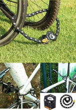 Load image into Gallery viewer, Hexagonal Foldable Bike Lock Anti-Theft Bicycle Chain