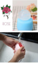 Load image into Gallery viewer, Reusable Rose Shape Silicone Ice Cube Moulds - giftfeedstore