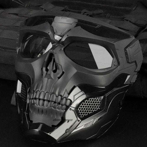 Skull Tactical Airsoft Paintball Mask - giftfeedstore