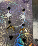 Procyon- Celestial Dangle Earrings