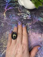 Crescent Moon Ring - Size 6 1/4