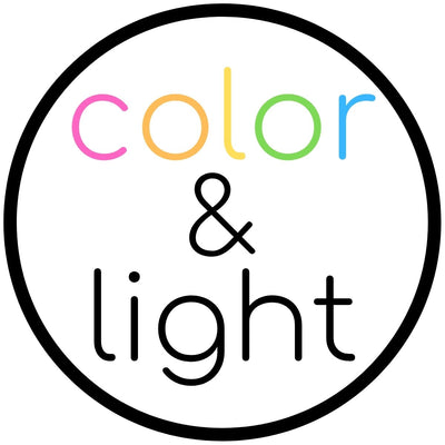 color & light round logo