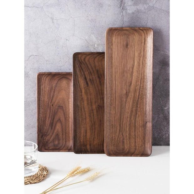 Coffee tray Black walnut-Friendly Cooks