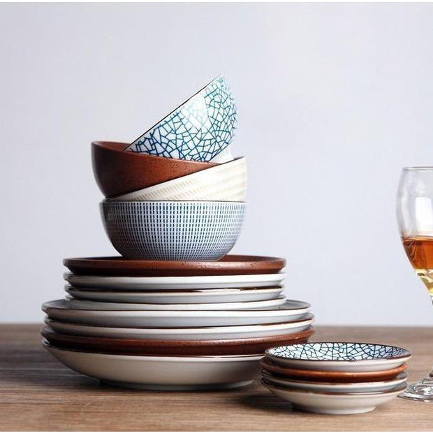 Porcelain Tableware Wind-Friendly Cooks