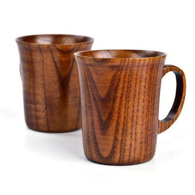 Wood cup Jujube-Friendly Cooks