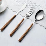 Wooden Tableware Set Nordic-Friendly Cooks