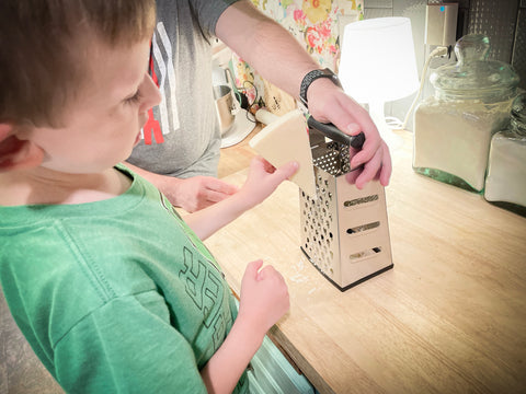 Learning about he box grater