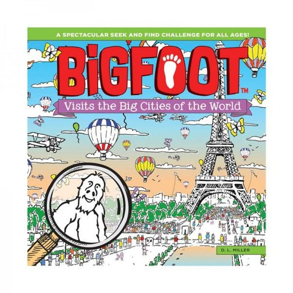 Book - BigFoot Visits the Big Cities