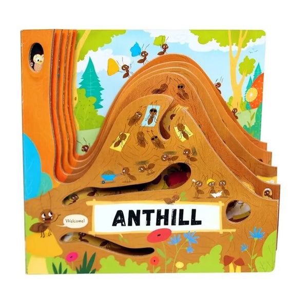 Layered Board Book - Anthill