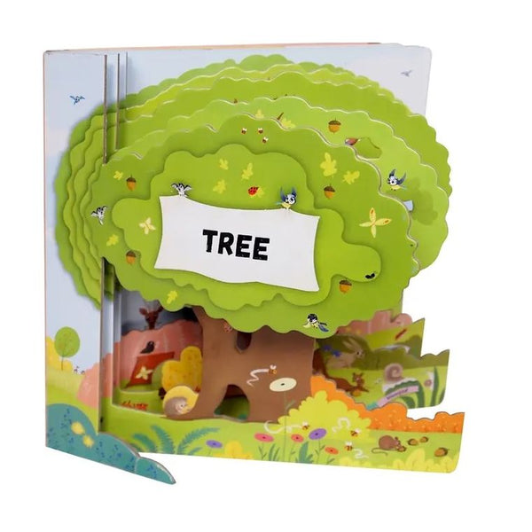 Layered Board Book - Tree
