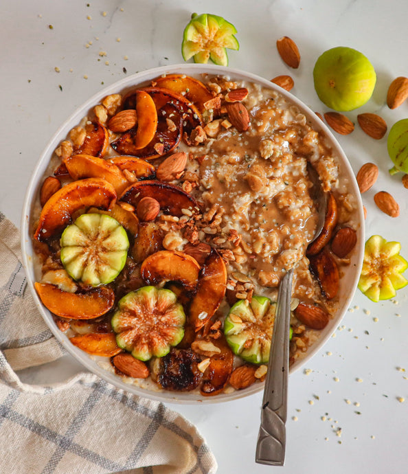 Autumn Oatmeal Bowl