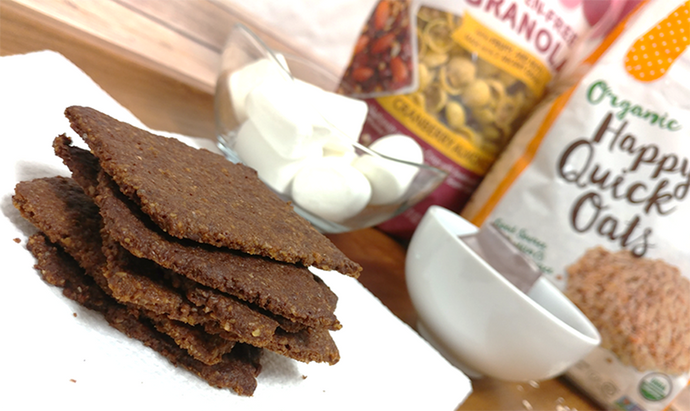 Gluten-Free Granola Graham Crackers