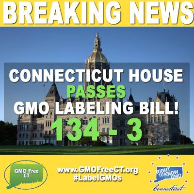 CT is first state to pass GMO labeling law