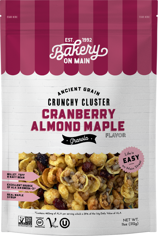 Cranberry Almond Maple Granola