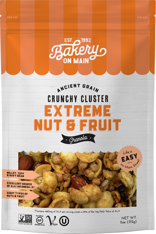 Extreme Nut & Fruit Granola