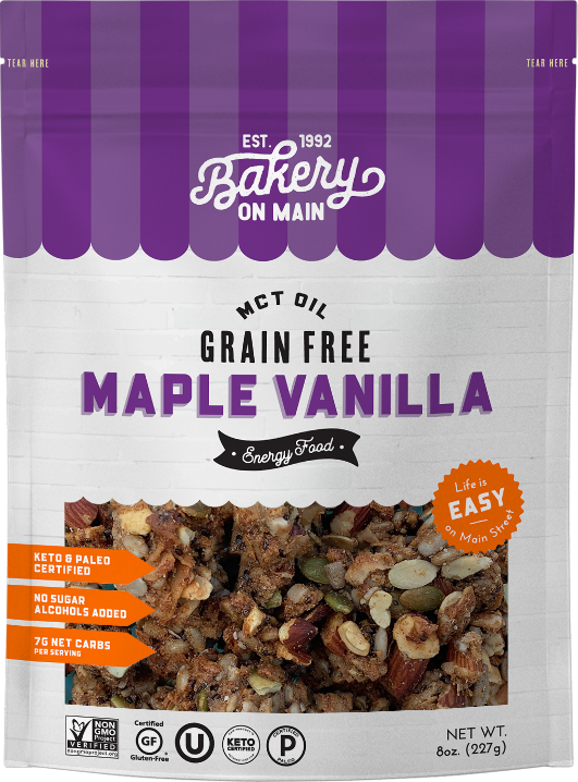 Grain-Free Maple Vanilla