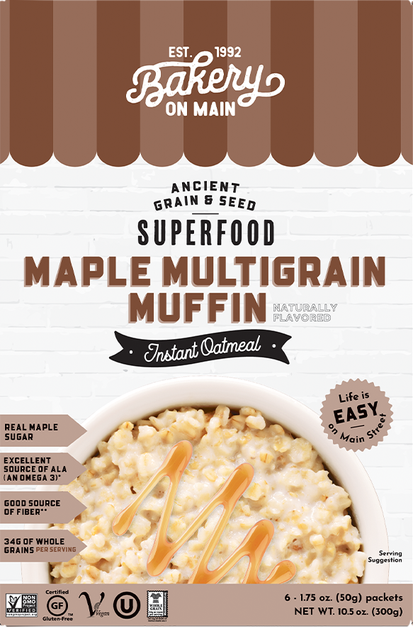 Maple Multigrain Muffin