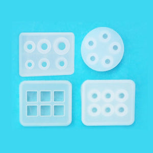 12Pcs All Sizes Beads Resin Molds