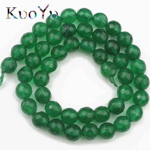 Gemstone Round Beads 4-12mm 15""