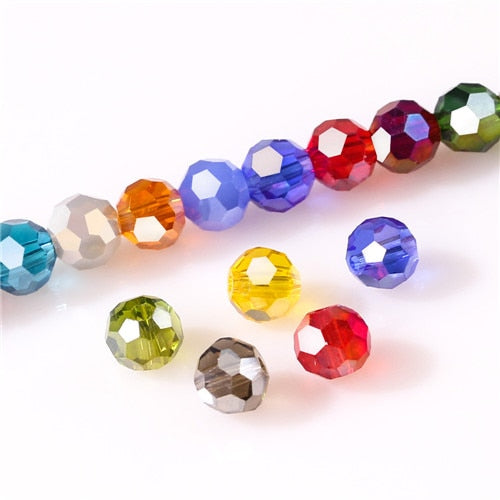 3 4 6 8mm Czech Glass Beads