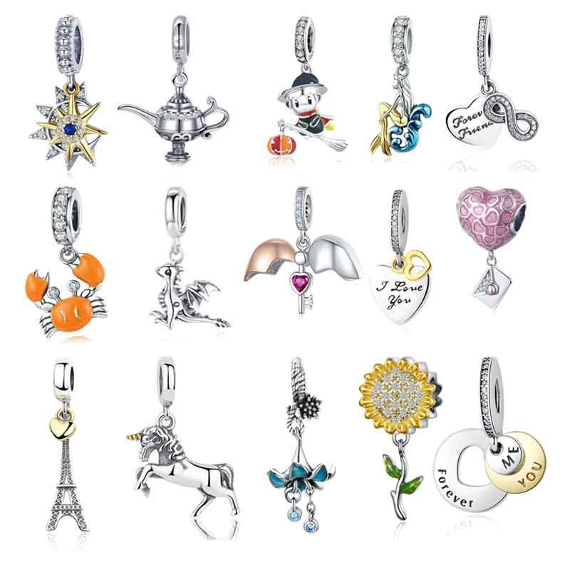 More Sterling Silver Charms for Bracelets
