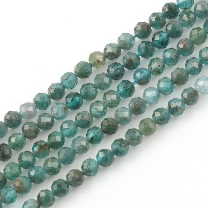 Kyanite Stone Faceted Beads 2/3/4mm 15 Inches