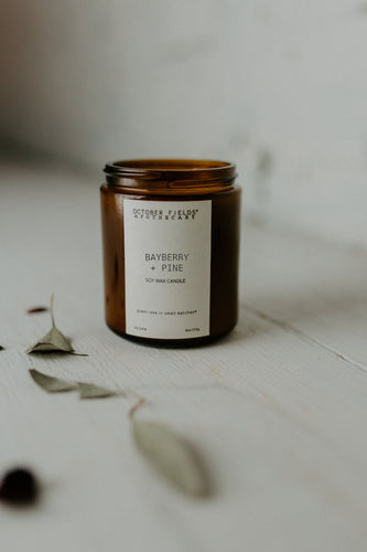 Bayberry Pine Candle