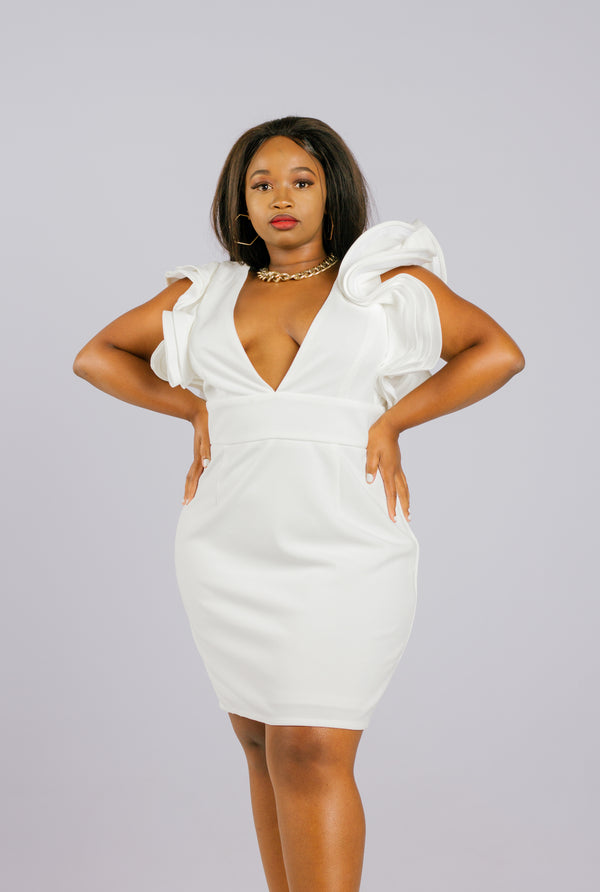 The Captivating Cloud Dress - Native Nylon