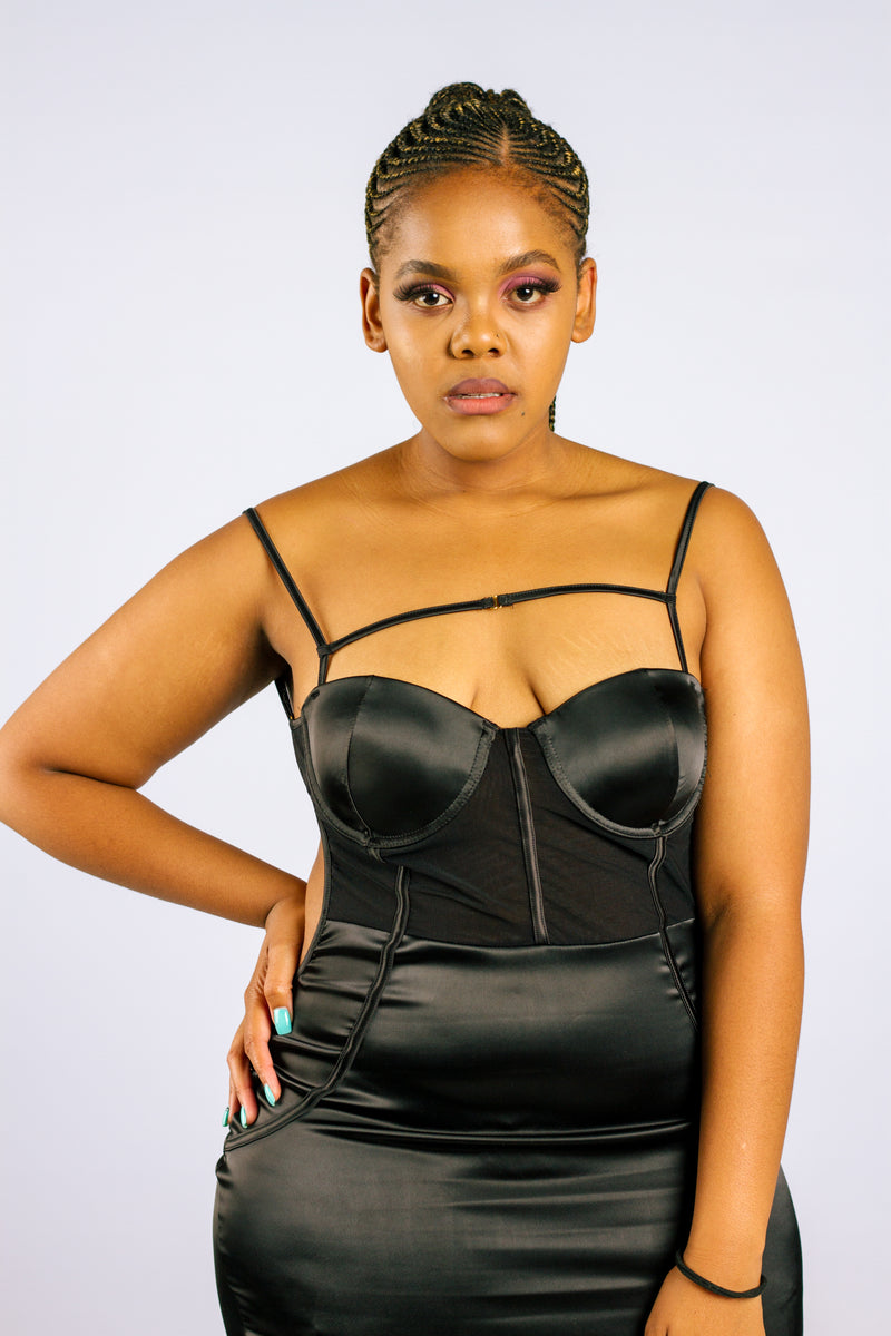 The Keturah Backless Dress - Native Nylon