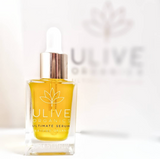 Natural sustainable face serum