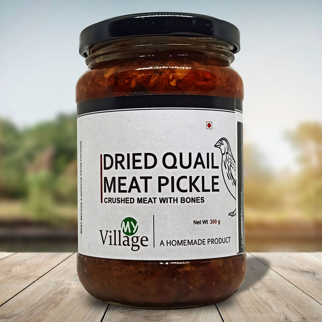 Dried Quail Meat Pickle