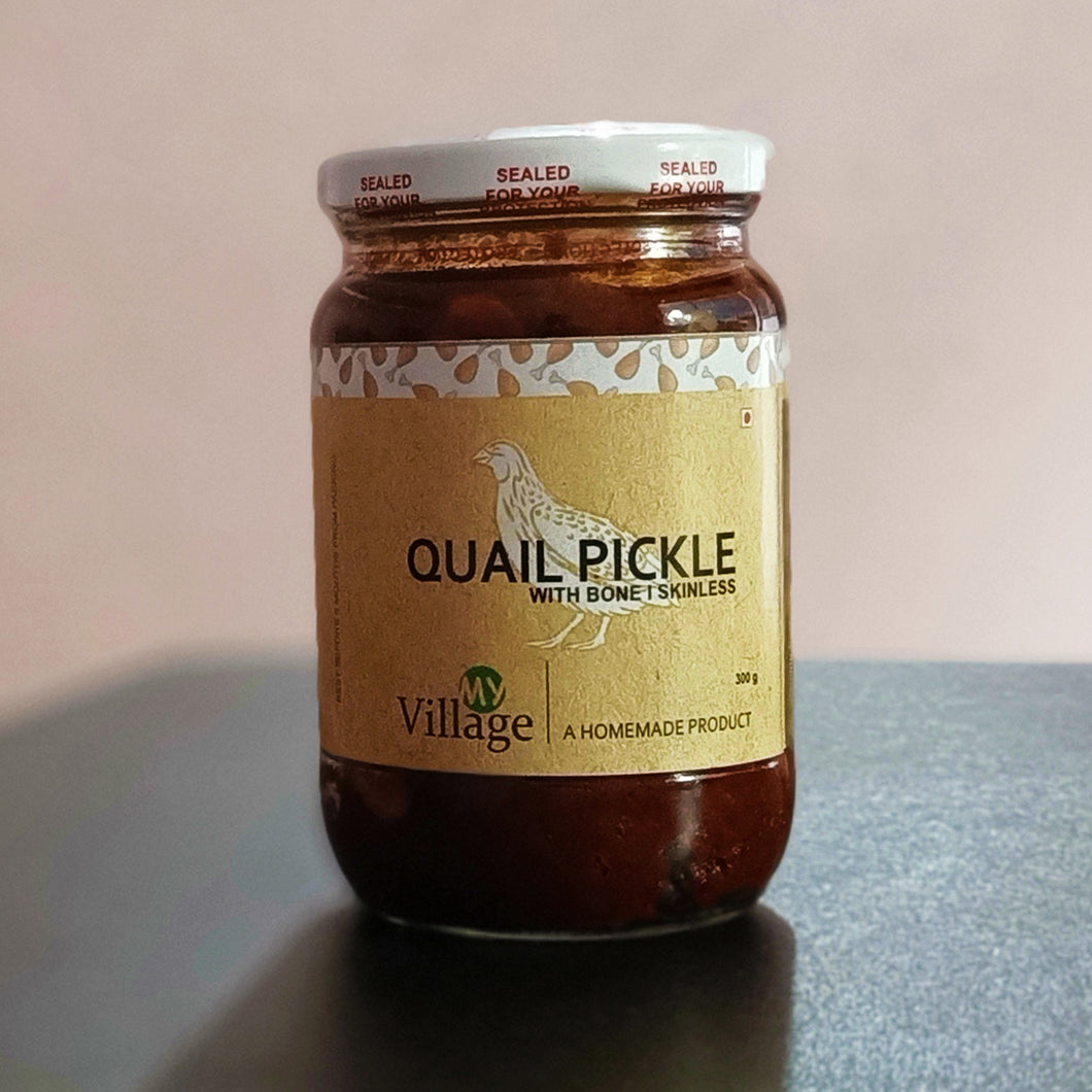 Quail meat pickle