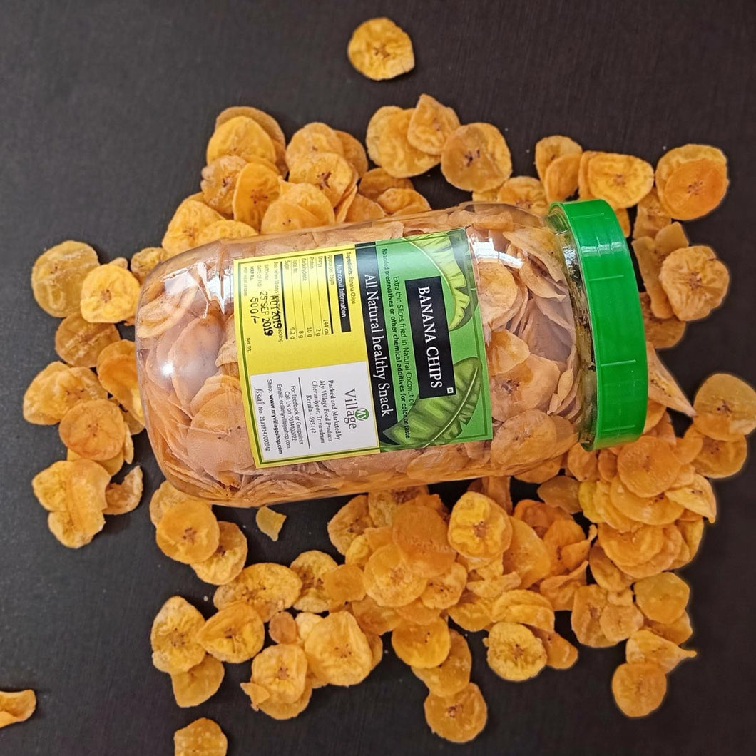 Ripened Kerala Banana Chips