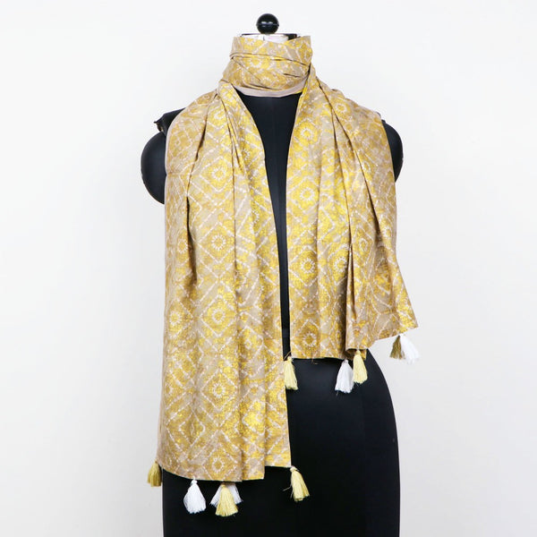 Printed Fabric Indian Cotton Scarf Cotton Stole