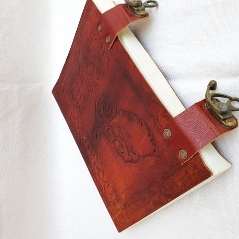 Leather Diary Leather Notebook