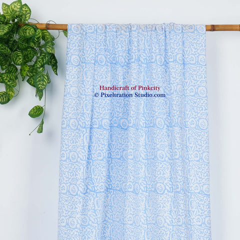 Hand Block Print Curtains